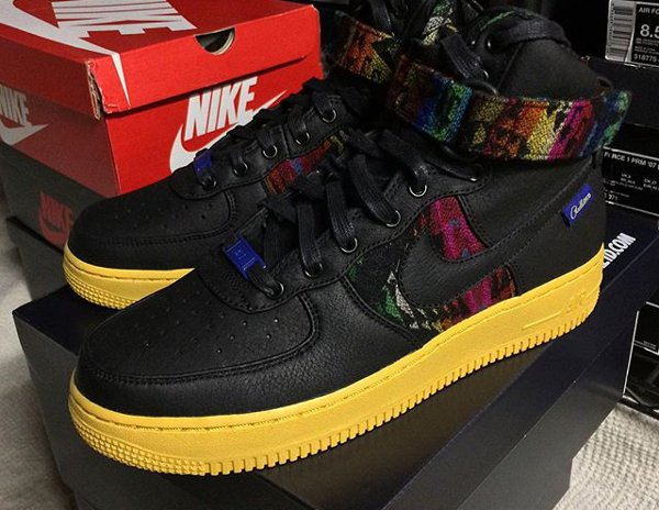 Nike Air Force 1 High ID Pendleton Warm and Dry - @regularolty