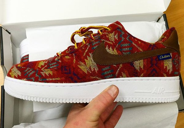 Nike Air Force 1 Low ID Pendleton Warm and Dry - @badjujuofficial