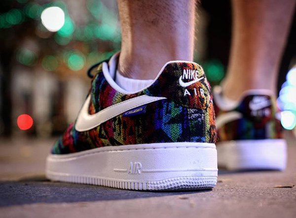 Nike Air Force 1 Low ID Pendleton Warm and Dry - @psy_chotik