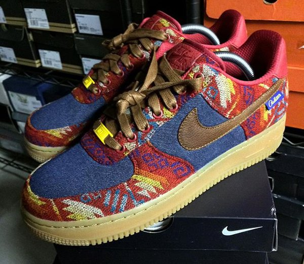 Nike Air Force 1 Low ID Pendleton Warm and Dry - @regularolty