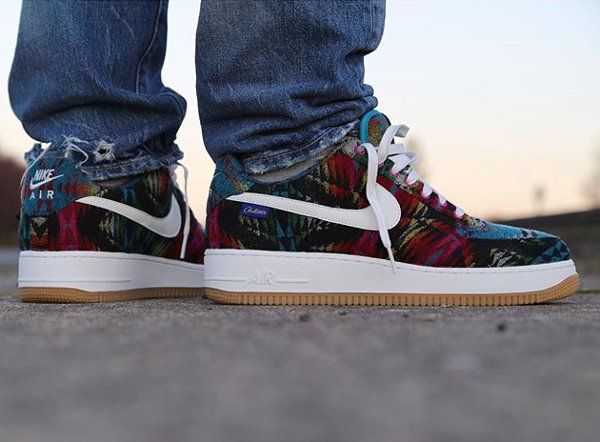 Nike Air Force 1 Low ID Pendleton Warm and Dry - @zadehkicks