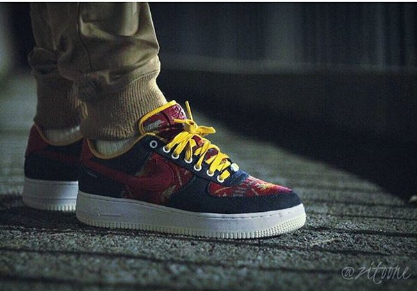 Nike Air Force 1 Low ID Pendleton Warm and Dry - @zitoone
