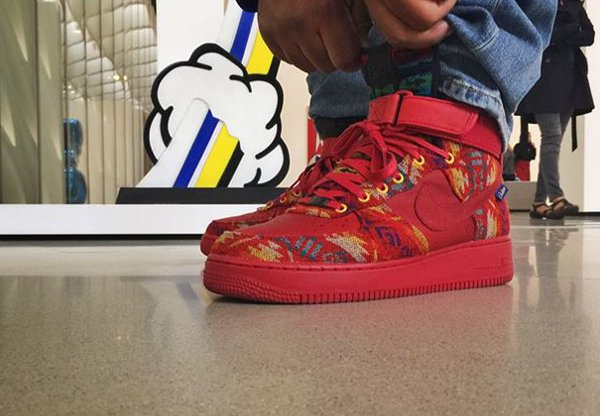 Nike Air Force 1 Mid ID Pendleton Warm and Dry - @_zerosumantik_