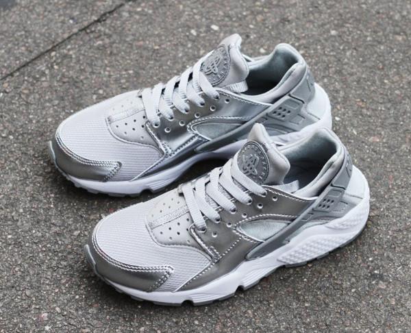Nike Air Huarache 'Silver' (argentée) (3)