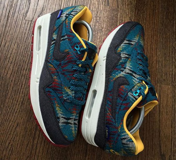 Nike Air Max 1 Pendleton Warm and Dry - @regularolty