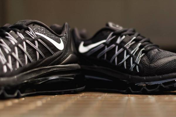 Nike Air Max 2015 Black White  (2)