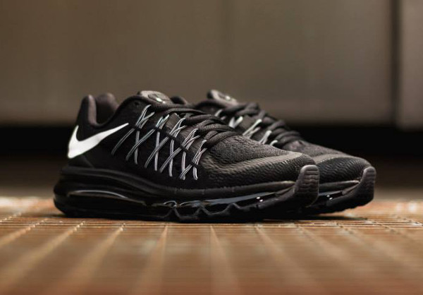 Nike Air Max 2015 Black White  (3)