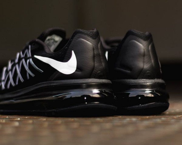 Nike Air Max 2015 Black White  (4)