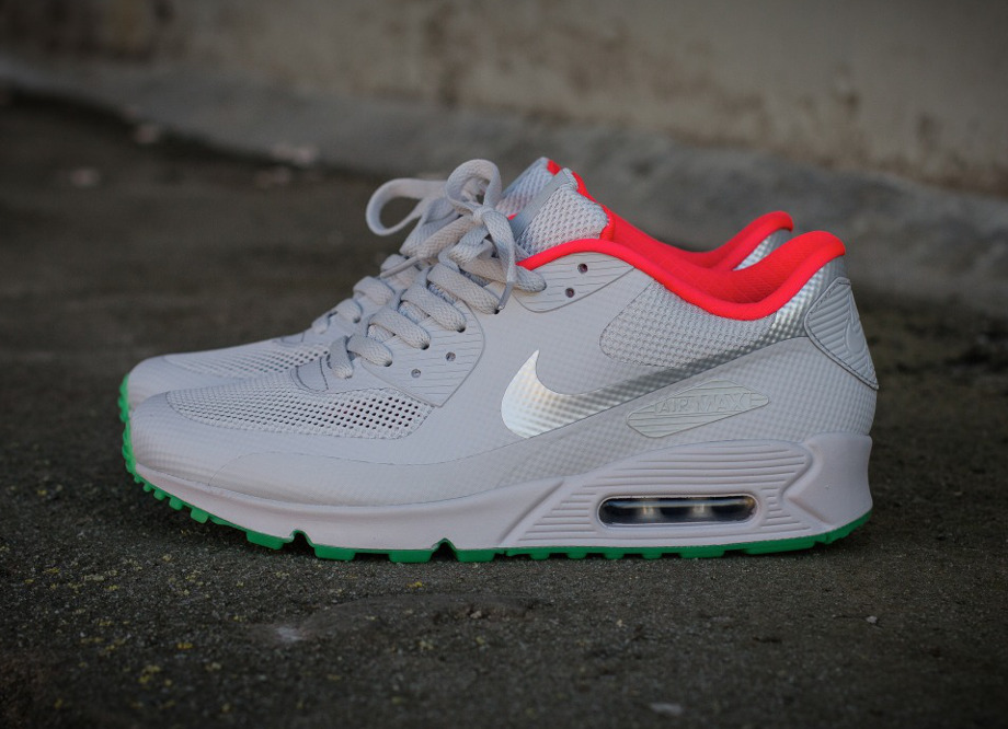 new arrival 640ae 420f6 nike air max 90 hyperfuse yeezy ii pure platinum id