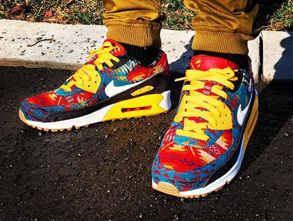 Nike Air Max 90 ID Pendleton Warm and Dry - @b2slow