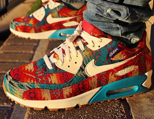 Nike Air Max 90 ID Pendleton Warm and Dry - @doc_downes