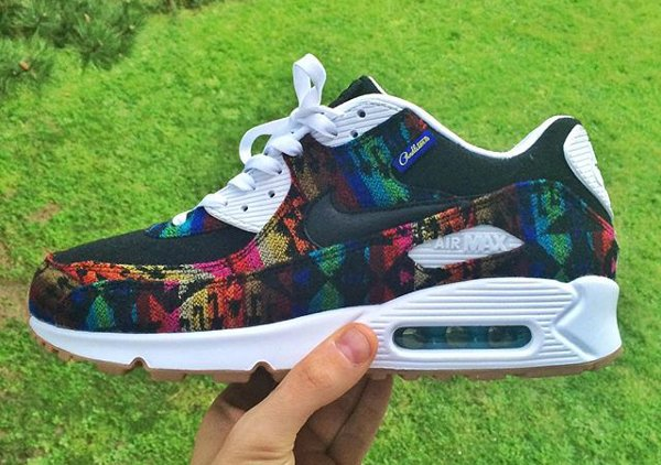 Nike Air Max 90 ID Pendleton Warm and Dry - @frems (1)