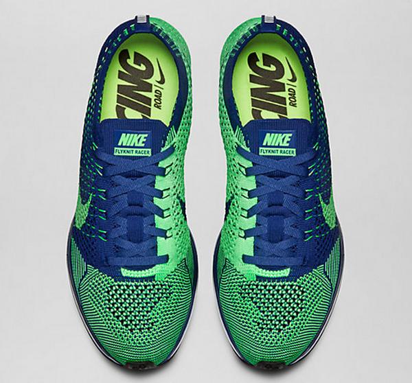 Nike flyknit racer 39 poison green 39 o l 39 acheter for Acheter poison