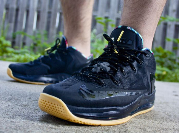 Nike Lebron 11 Low Max Black Gum - Lotheykno