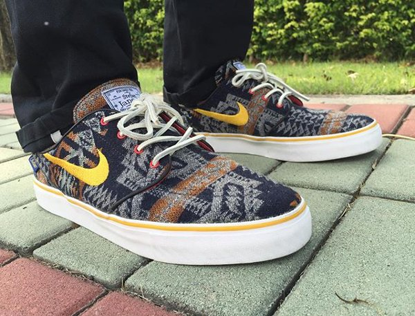 Nike SB Janoski ID Pendleton Warm and Dry - @biggie_sb