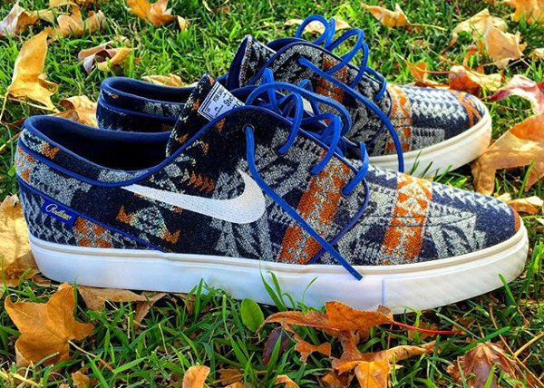 Nike SB Janoski ID Pendleton Warm and Dry - @henrydlc