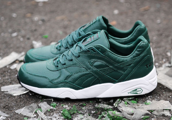Puma Trinomic R698 'Crackle' Cosy Green