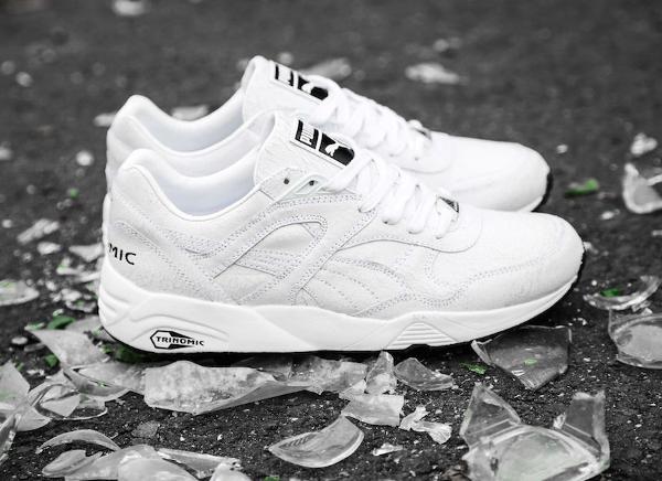 Puma Trinomic R698 'Crackle' White White-1