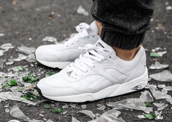 Puma Trinomic R698 'Crackle' White White-2