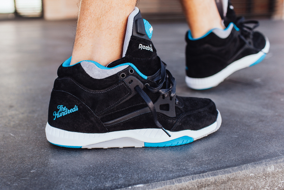 Reebok Pump AXT The Hundreds Coldwaters Black Aquatic Blue-6