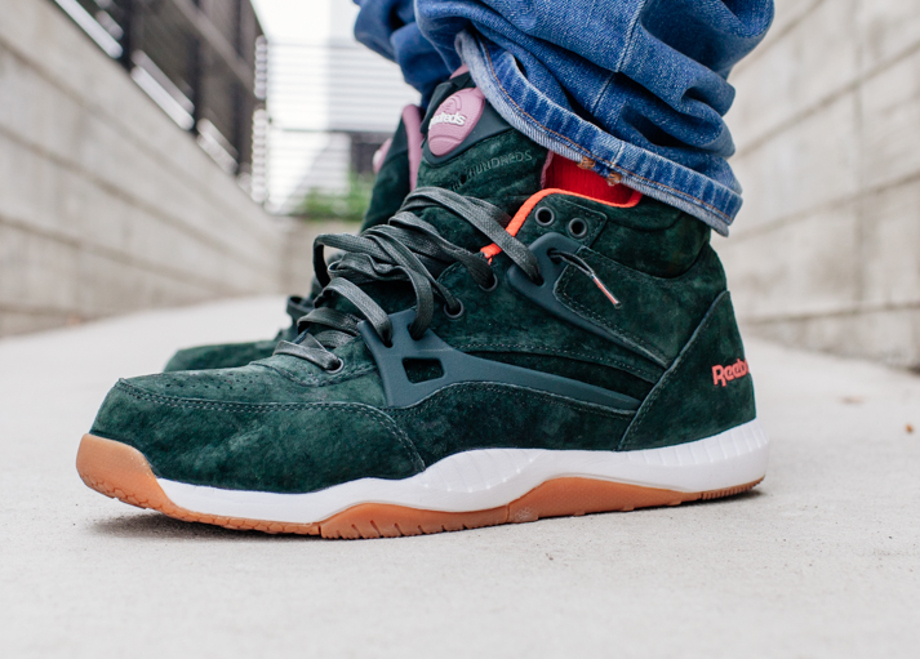 Reebok Pump AXT The Hundreds Coldwaters Dark Green-7