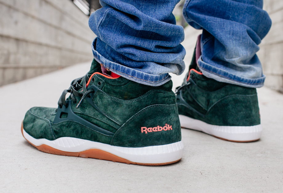 Reebok Pump AXT The Hundreds Coldwaters Dark Green-8