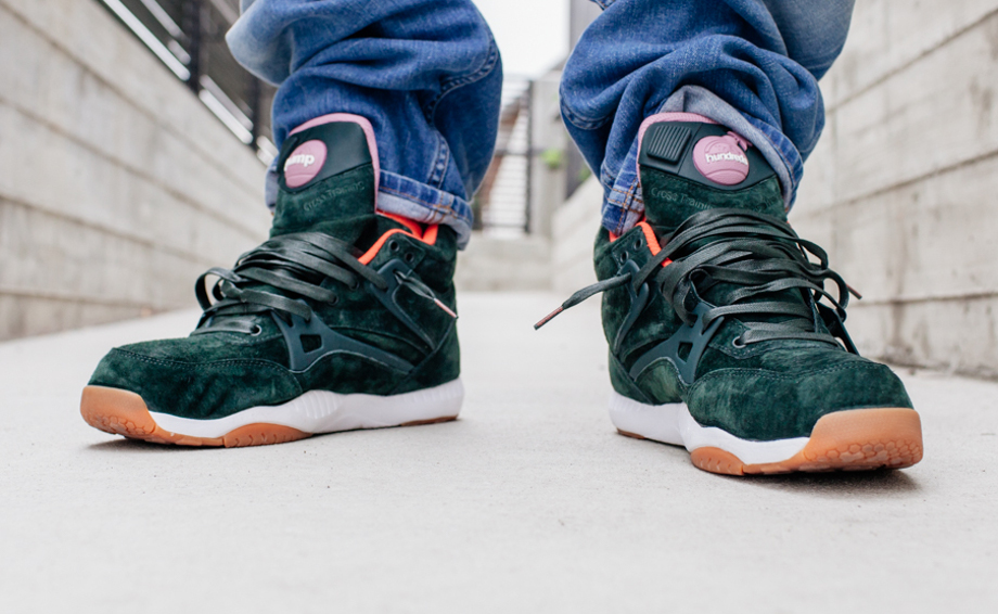 Reebok Pump AXT The Hundreds Coldwaters Dark Green