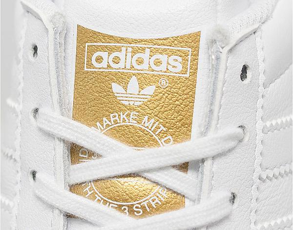 Adidas Gazelle OG blanc et or (doree) (6)
