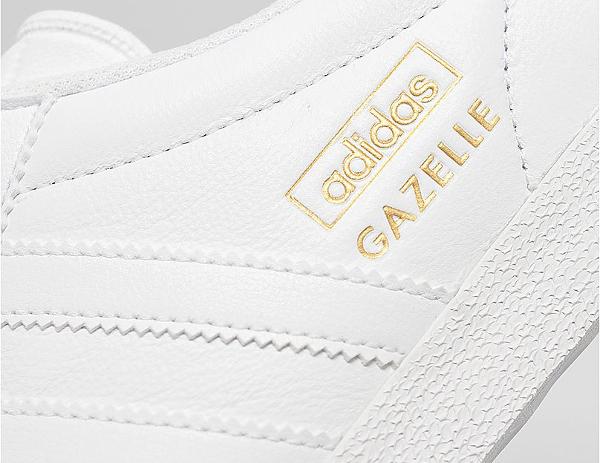 Adidas Gazelle OG blanc et or (doree) (7)