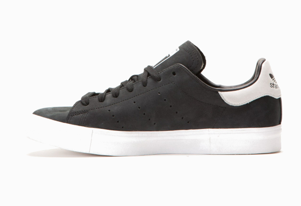 Adidas Stan Smith Vulc Core Black Vintage White (2)