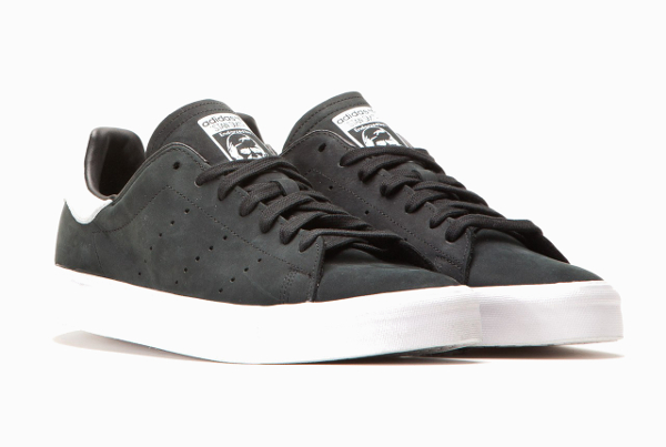 Adidas Stan Smith Vulc Core Black Vintage White (3)