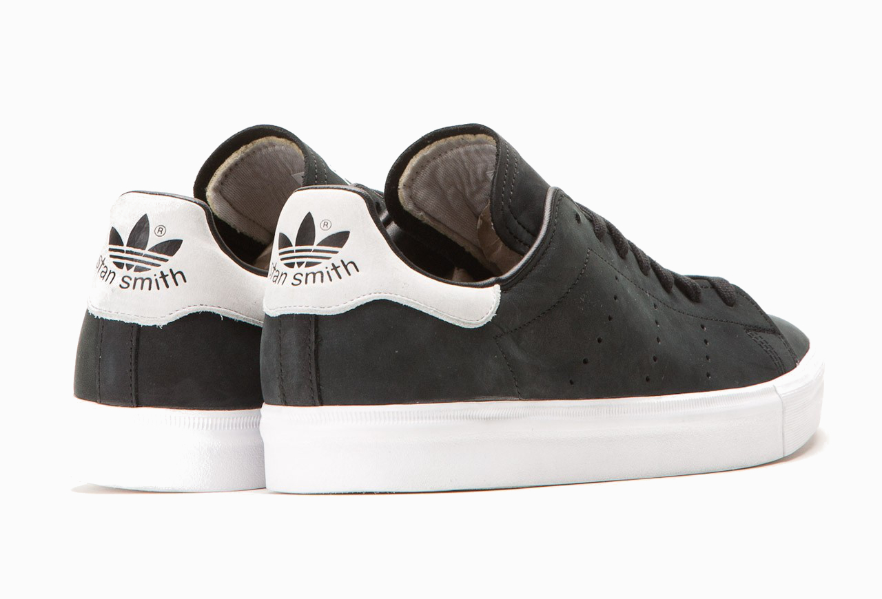 Adidas Stan Smith Vulc Core Black Vintage White (4)