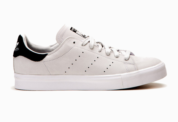 Adidas Stan Smith Vulc Vintage White Core Black (1)