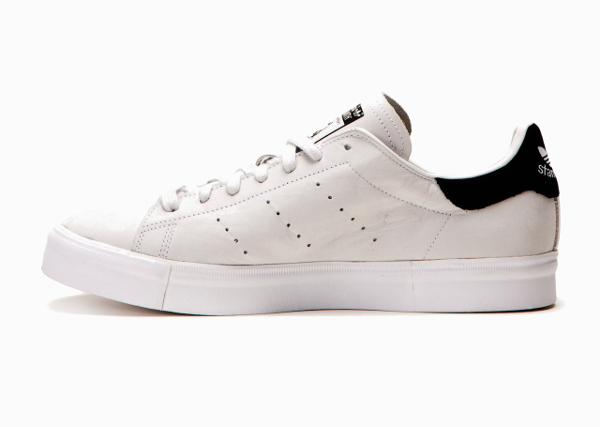 Adidas Stan Smith Vulc Vintage White Core Black (2)