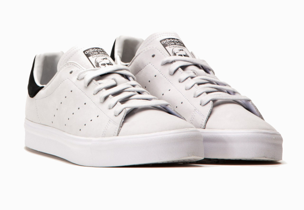 Adidas Stan Smith Vulc Vintage White Core Black (3)