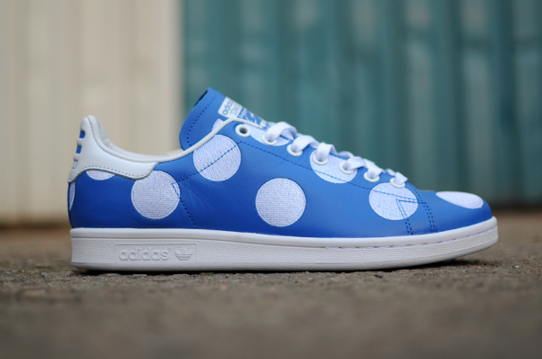 Adidas Stan Smith x Pharrell Williams 'Big Polka Dots' bleu (2)