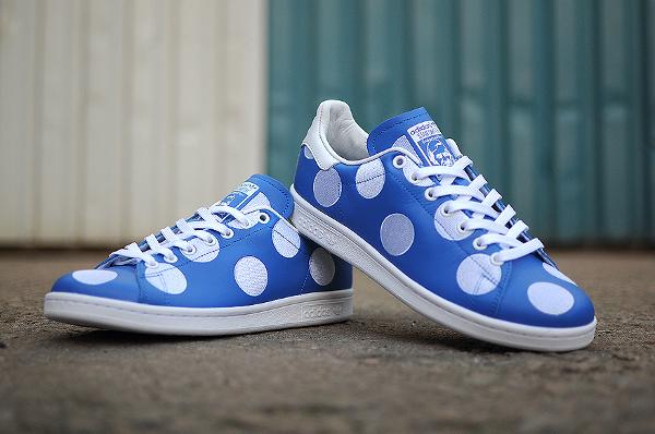 Adidas Stan Smith x Pharrell Williams 'Big Polka Dots' bleu (4)