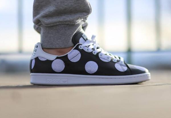 Adidas Stan Smith x Pharrell Williams 'Big Polka Dots' noir (4)