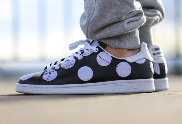 Adidas Stan Smith x Pharrell Williams 'Big Polka Dots' noir (5)