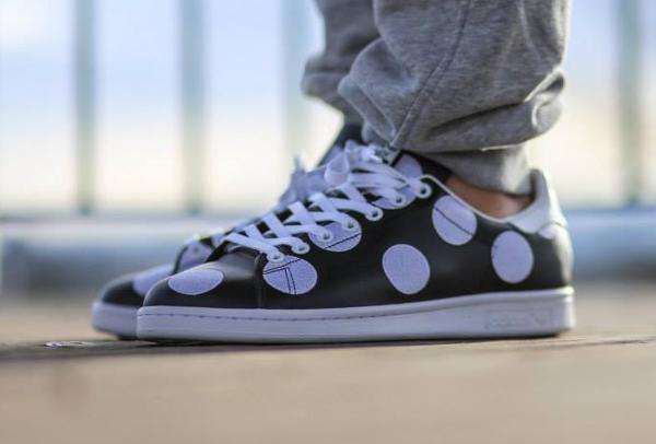 Adidas Stan Smith x Pharrell Williams 'Big Polka Dots' noir (6)