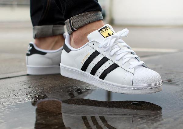 Adidas Superstar 80 blanc et noir (1)