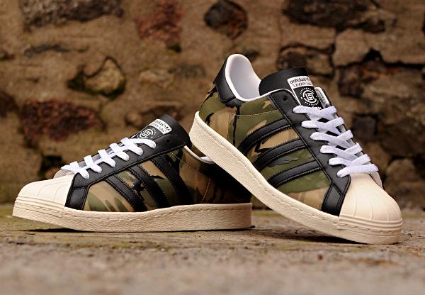 Adidas Superstar 80's x Clot 84-LAB 'Camouflage' ...