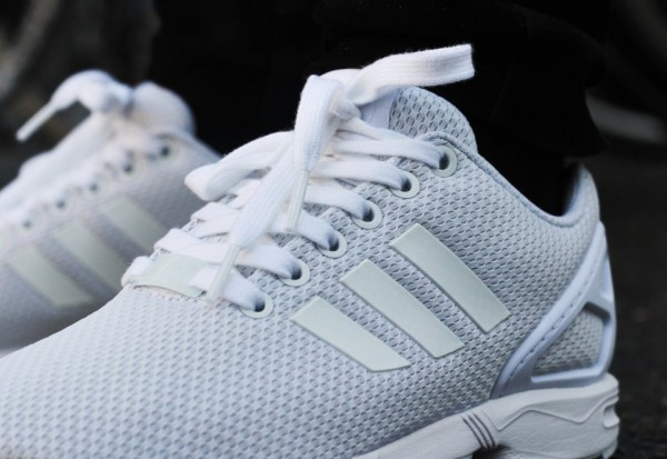 Adidas ZX Flux 'All White'
