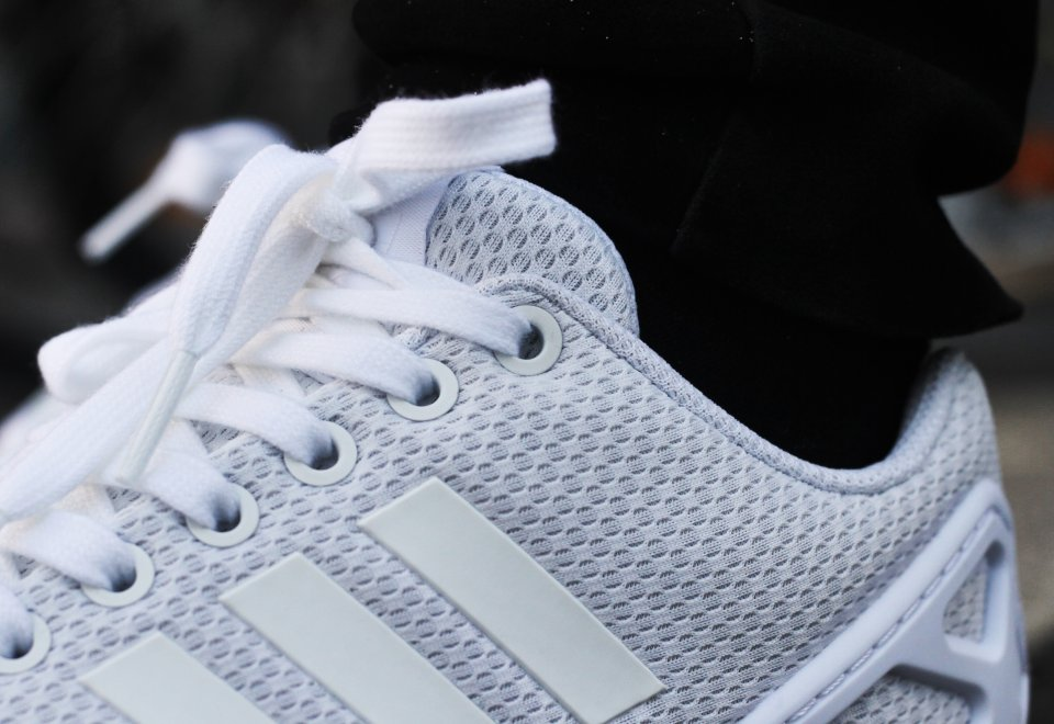 Adidas ZX Flux Triple White (2)