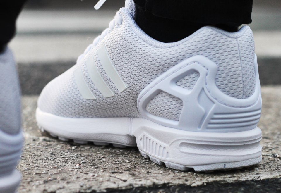 Adidas ZX Flux Triple White (3)