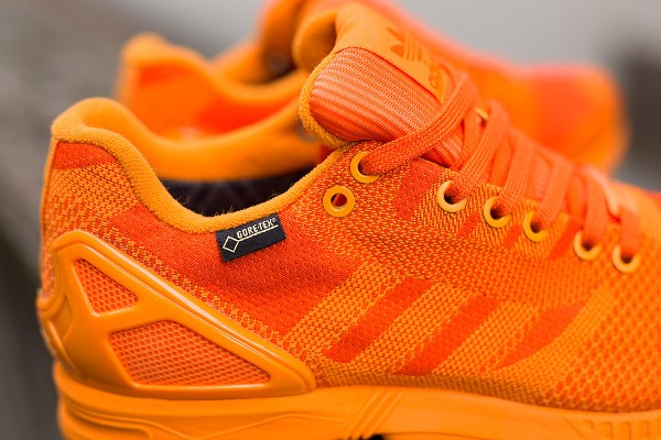 Adidas ZX Flux Weave Gore Tex (Orange/Orange)