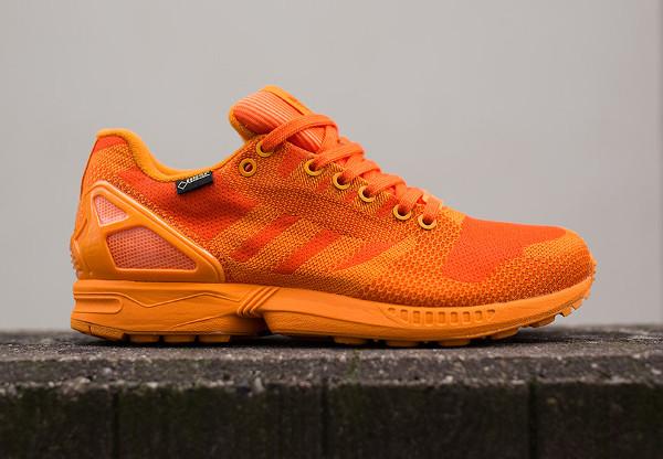 Adidas ZX Flux Weave Gore Tex 'Orange' (3)