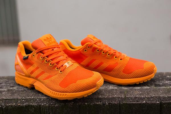 Adidas ZX Flux Weave Gore Tex 'Orange' (4)