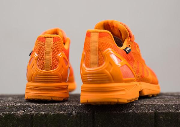 Adidas ZX Flux Weave Gore Tex 'Orange' (5)