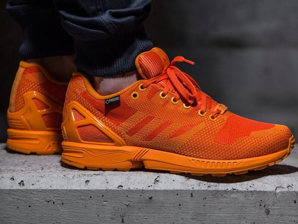Adidas ZX Flux Weave Gore Tex 'Orange' (6)